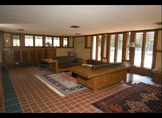 PHOTOS Inside Frank Lloyd Wright s Coonley House Now For Sale