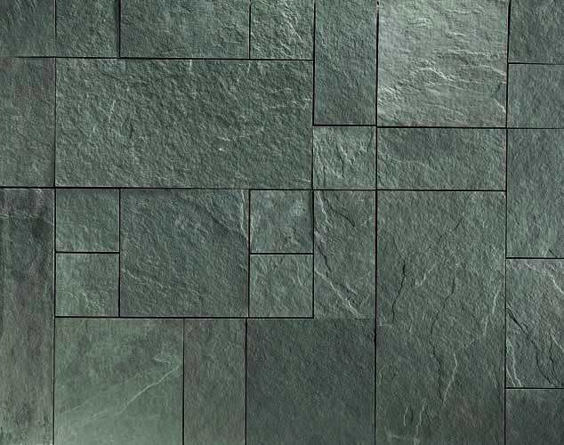 Green stone wall cladding google search stone cladding for Exterior glass wall texture