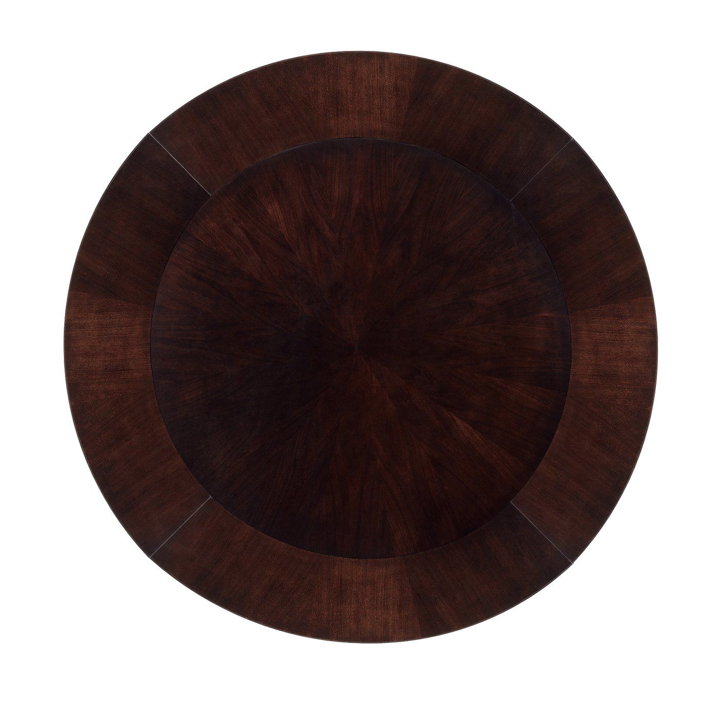 Round Table With With 4 Perimeter Leaves 48 To 68 Round Dining