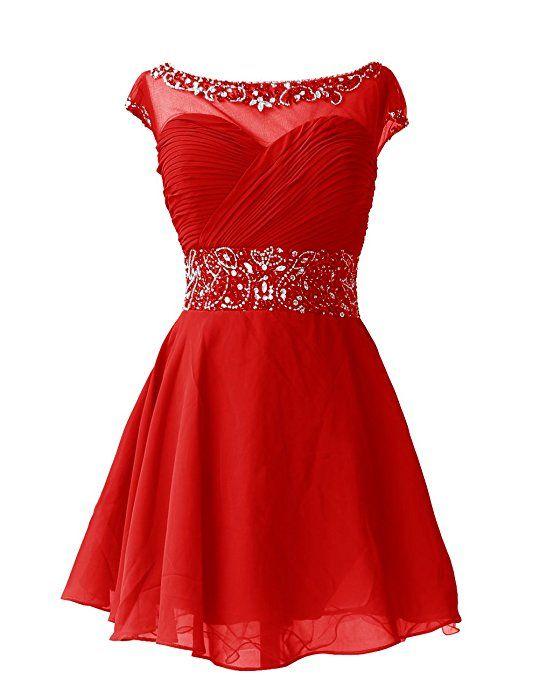 Dresstells Knee Length Prom Dress for Girls Short Homecoming Dress Navy  Size 2 09e72d35b252