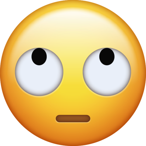 Rolling Eyes Emoji Transparent Background Png Emojis Para Whatsapp Emojis De Iphone Imágenes De Emojis