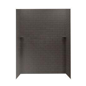 Swanstone Canyon Shower Wall Surround Side And Back Walls (Common: 62-