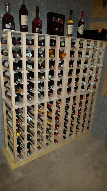 Casiers Pour Bouteilles Casier Vin Cave A Vin Rangement Du Vin Amenagement Cave Casier Bois Meuble En Bois Inst In 2020 Wine Cave Design Home Wine Cellars Wine Rack