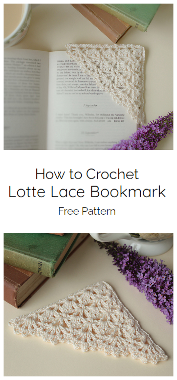 Photo of How to Crochet Lotte Lace Bookmark – Crochet Kingdom