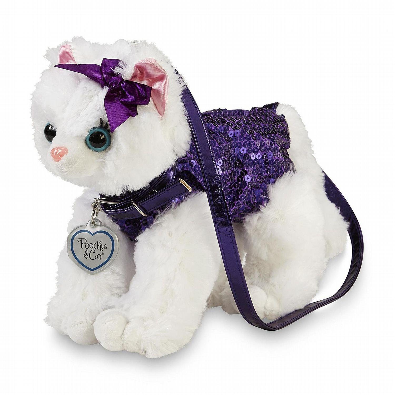 Poochie Co Girl S Puddy Plush Sequin Cat Purse Cat Purse Sparkly Handbag Purses [ 1500 x 1500 Pixel ]