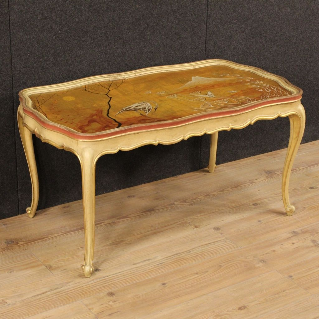 1250 venetian lacquered gilded and hand painted coffee table 1250 venetian lacquered gilded and hand painted coffee table visit our website www geotapseo Image collections