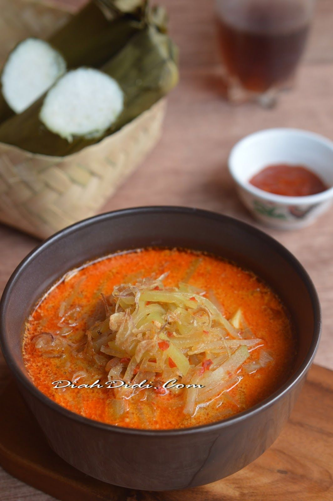Resep Lontong Sayur Labu Siam : resep, lontong, sayur, LONTONG❤️,, Sayur, Lodeh, Ideas, Food,, Spicy, Recipes,, Indonesian