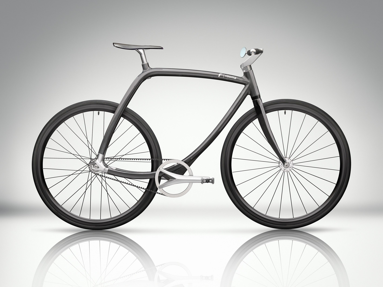 Rizoma Metropolitan Bike Black Frame Monobloc Carbon Frame