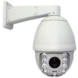 """NEW 600TVL 30 Times Zoom IR High Speed CCTV Outdoor/Indoor Security PTZ Dome Camera - 1/4"""" SUPER HAD II SONY CCD, 600 TV Lines, 30X Optical Zome, 10X Digital Zoom, IR Distance Up to 300 feet, Water Proof - http://electmecameras.com/camera-photo-video/security-surveillance/dome-cameras/new-600tvl-30-times-zoom-ir-high-speed-cctv-outdoorindoor-security-ptz-dome-camera-14-super-had-ii-sony-ccd-600-tv-lines-30x-optical-zome-10x-digital-zoom-ir-distance-up-to-300-feet-water-proof-"""