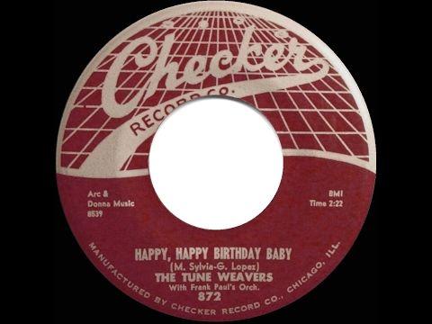 1957 HITS ARCHIVE: Happy Happy Birthday Baby - Tune ...