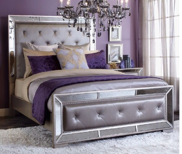 Inspired By This Bedroom Look On Zgallerie Purple Bedroom Decor