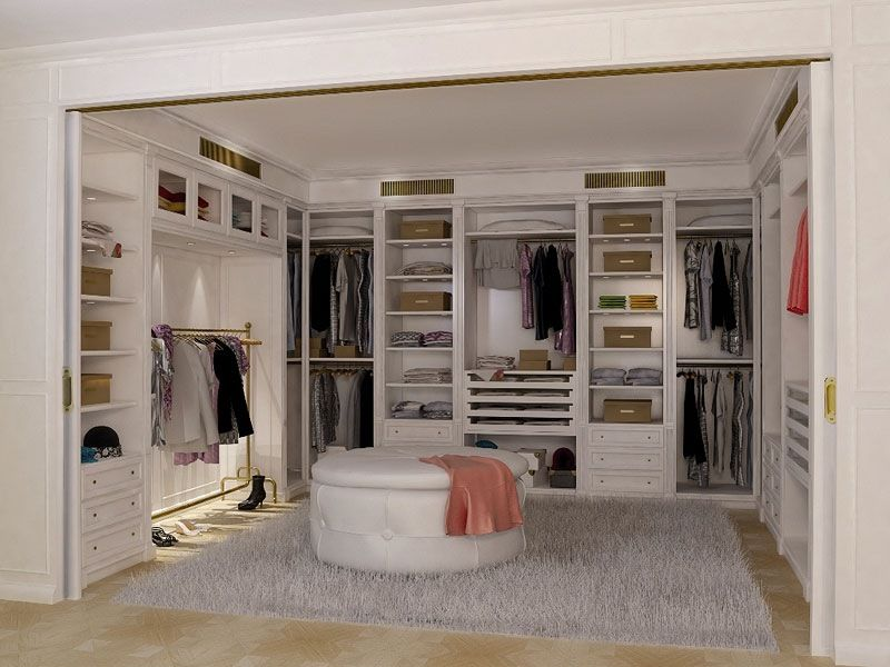 35 Najzaujímavejších Tipov Na Šatníky Ktoré Sú Snom Každej Ženy Brilliant Bedroom Walk In Closet Designs Design Decoration