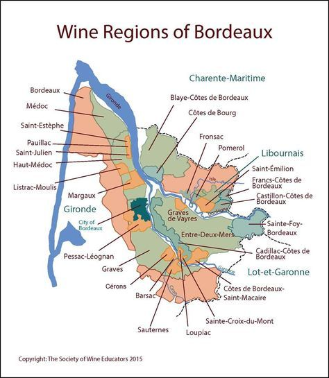FRANCE Wine Regions of Bordeaux wine Pinterest Bordeaux Wine