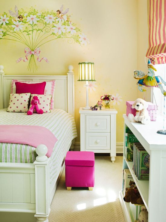Spaces Little Girl Bedroom Painting Ideas Design, Pictures, Remodel ...