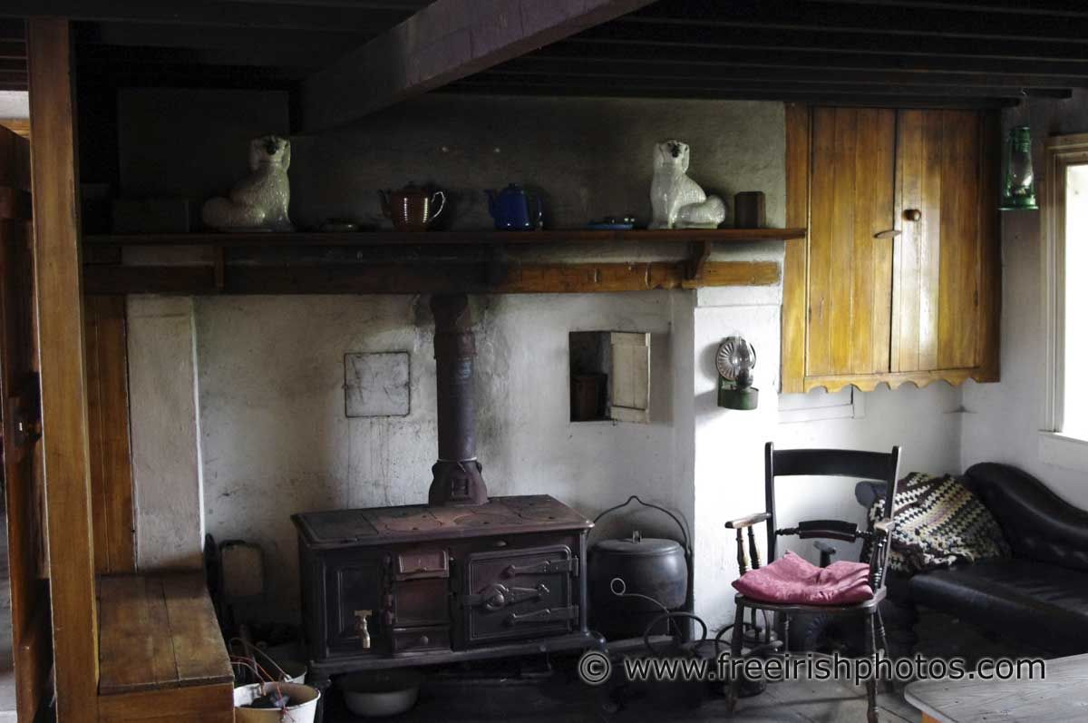Old Irish Cottage Interiors
