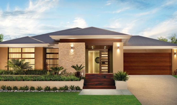 Captivating Single Story Modern House Designs Listed Our Simple   House Plans | #15766