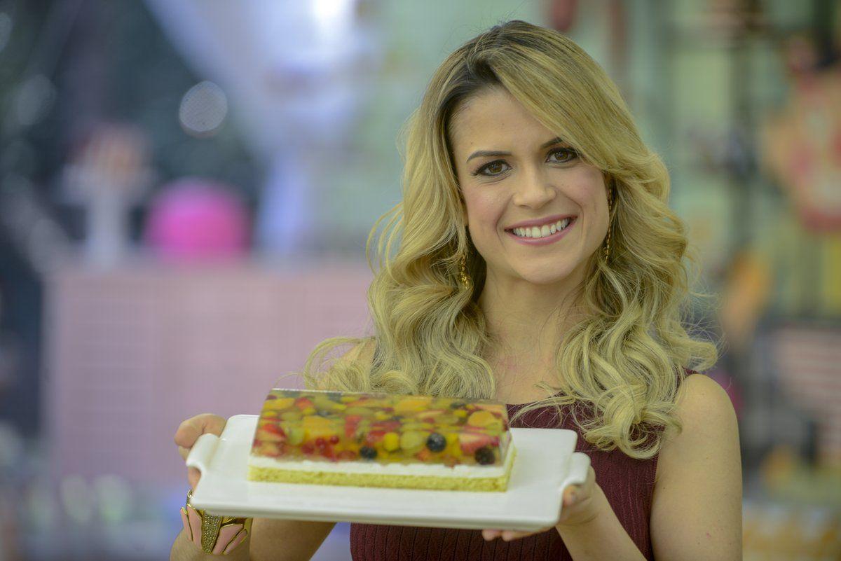 Junior Bake Off Brasil Aprenda A Receita Da Torta Vitrine De Frutas Com Imagens Receitas