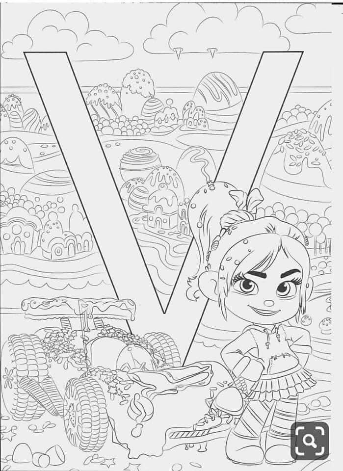 Pin By Nellie Grootendorst On Coloring Pages In 2020 Coloring Pages Cartoon Coloring Pages Disney Alphabet