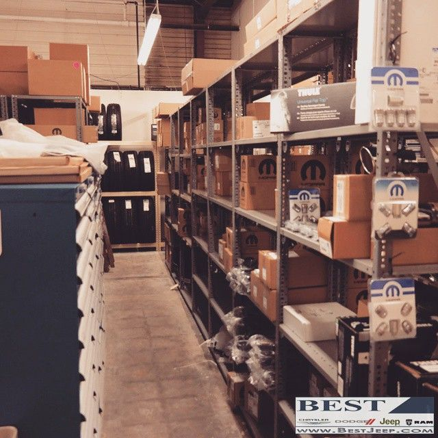 Here's a look at part of our #Mopar parts department. www ...