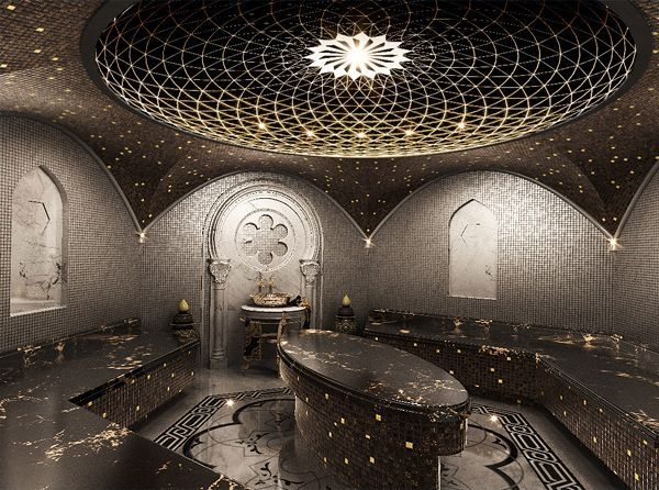 This Incredible Spa Ceiling Steal It For Your Bathroom Hamam