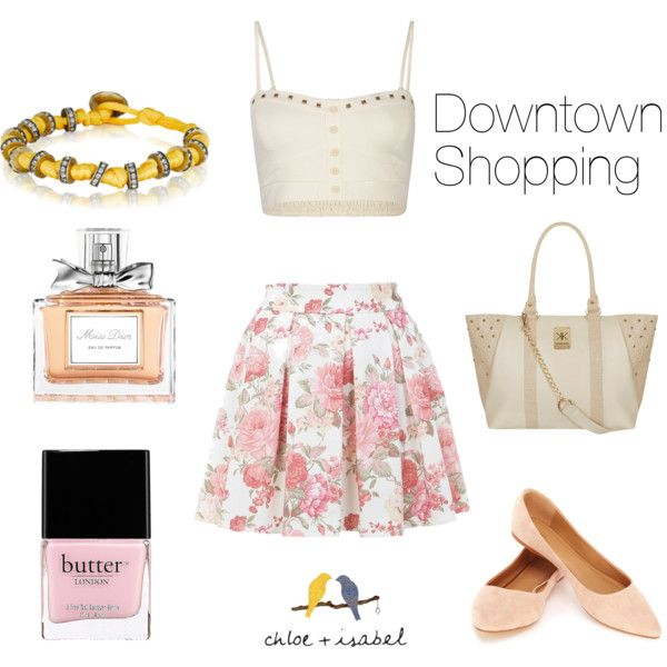 """Downtown Shopping"" by christinamartinaxoxo on Polyvore"