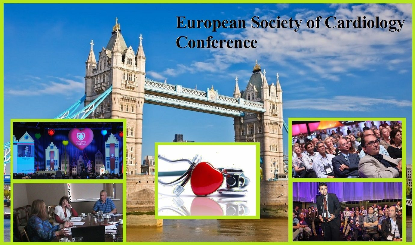 Worldwide cardiology group in London from 29 August to 2