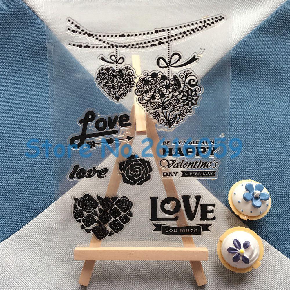 About uu loveuu design scrapbook diy photo album paper rubber stamp