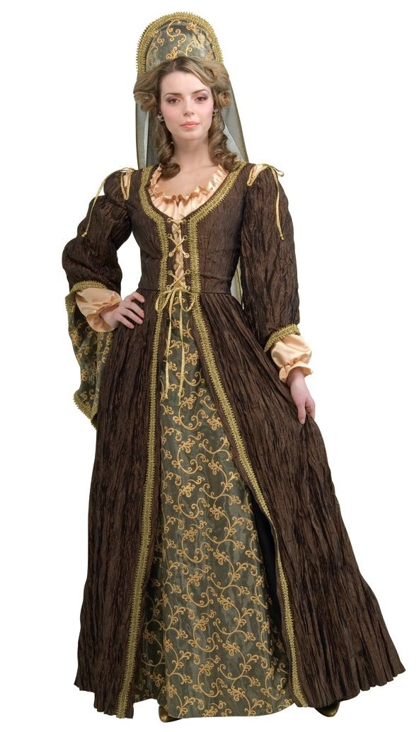 aab7a7f985f4c 1600s England Anne Boleyn Period Costume - This is a beautiful and  well-detailed Anne Boleyn queen costume. This is the famous second wife of  Henry XIV who ...
