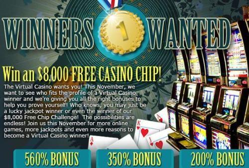 Virtual casino bonus code lucky chances casino careers
