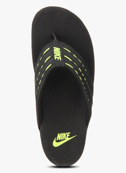 f27d7f931ea Buy Nike Keeso Thong Black Slippers for Men Online India