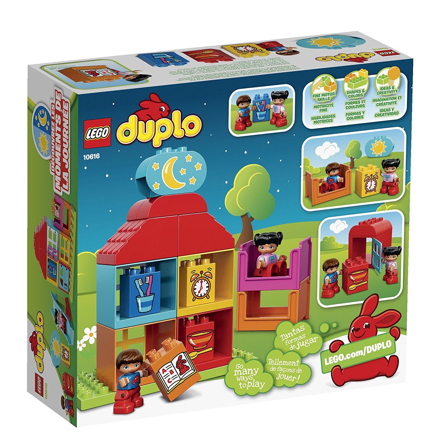 Lego Duplo My First Playhouse 10616 Toy For 1 Year Old Click On