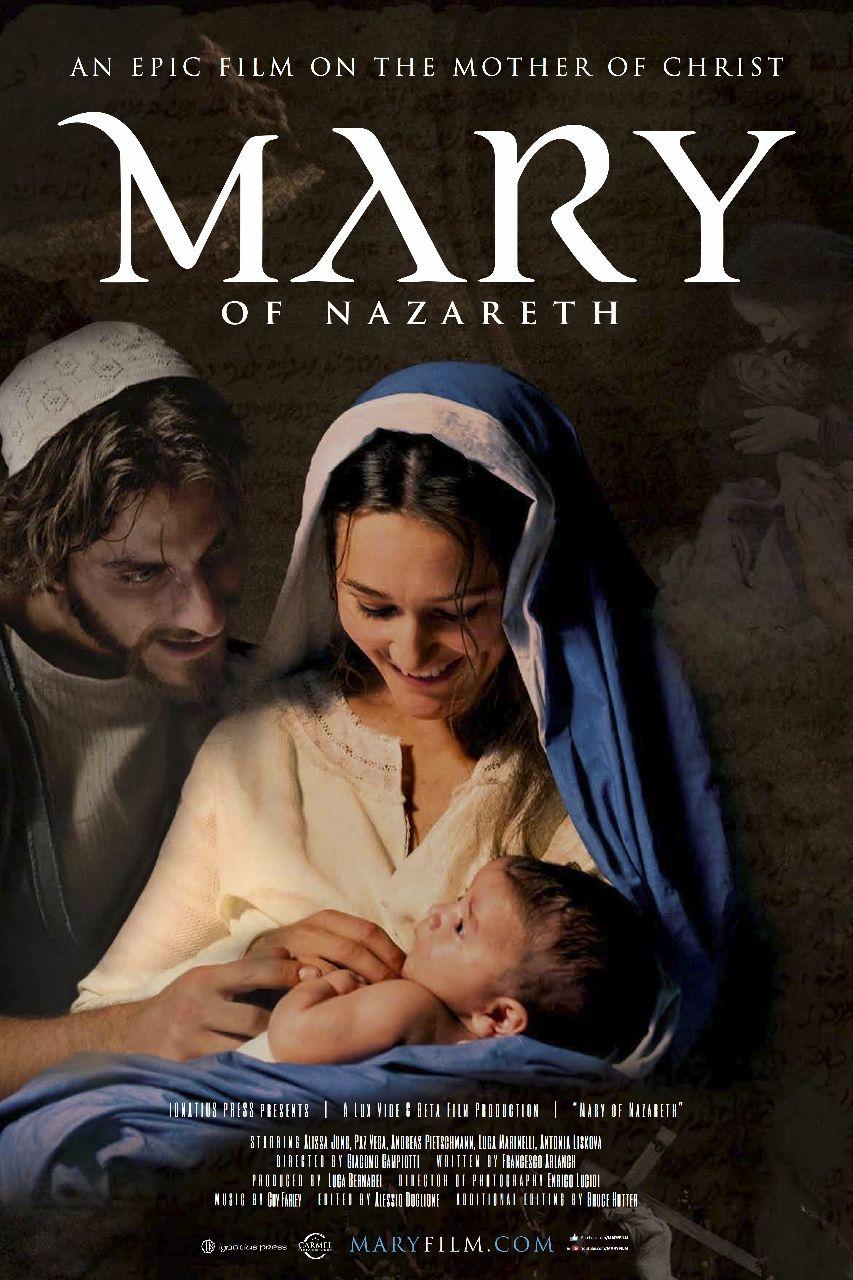 Mary Of Nazareth Christian Movie Film On Dvd Cfdb Christian Movies The Bible Movie Christian Films