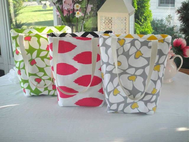 Reversible+Chevron+Tote+Bags+Tote+Bags+Bags+by+simplydivinebyjoann,+$30.00