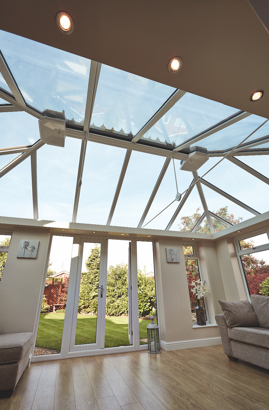 Doors & Orangery with patio doors by Walkers Windows. | Walkers Windows ...