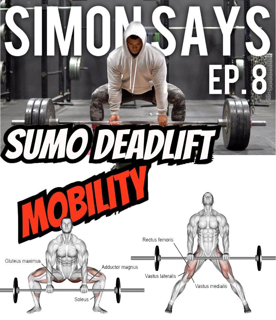 Sumo Deadlift Mobility Deadlift Workout Plan Gym Mobility Exercises