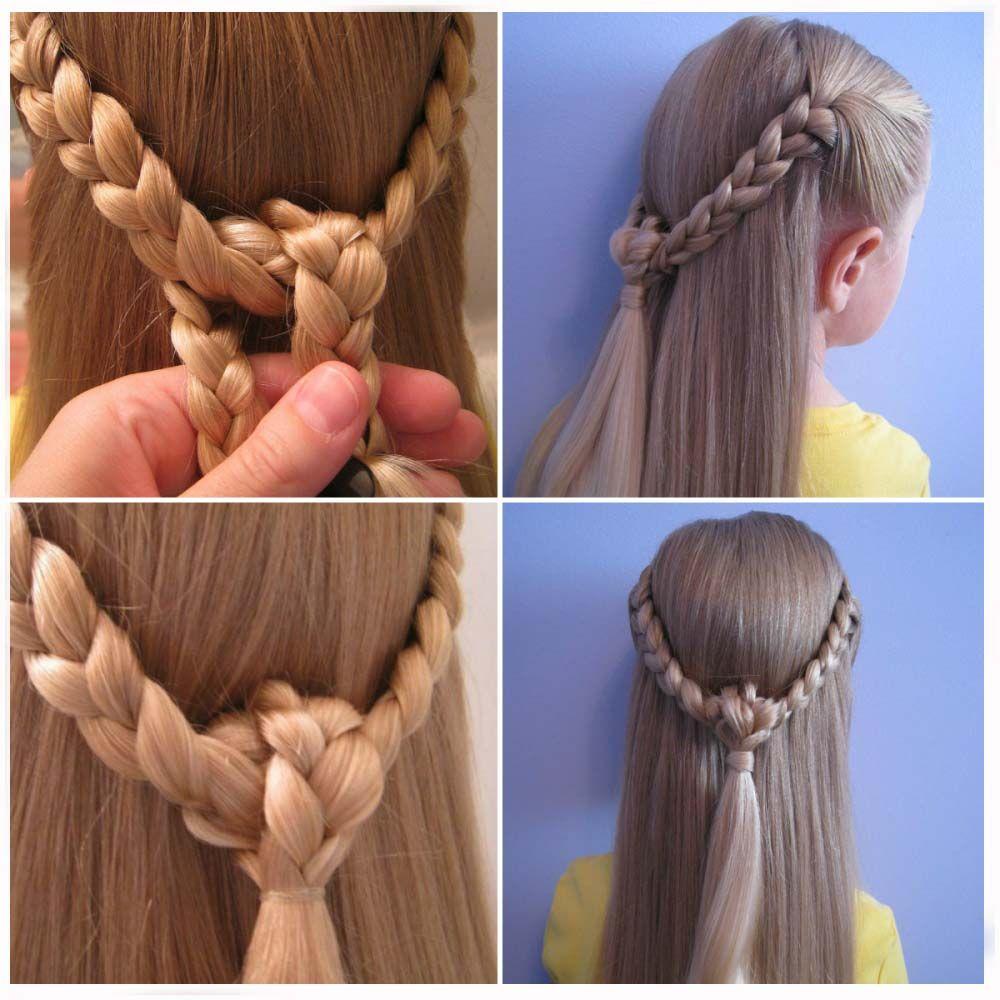Peinados De Trenzas Para Nina Paso A Paso Faciles Hair Ideas