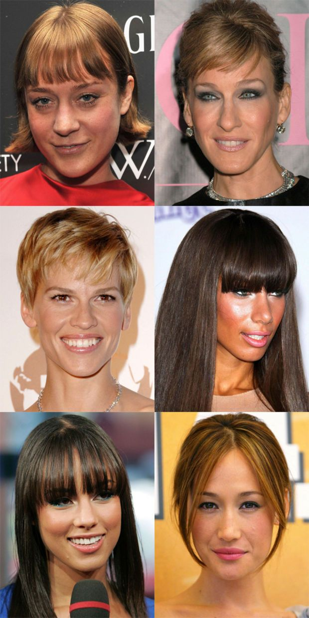 The Best And Worst Bangs For Long Face Shapes Long Face Hairstyles Long Face Shapes Long Face Short Hair