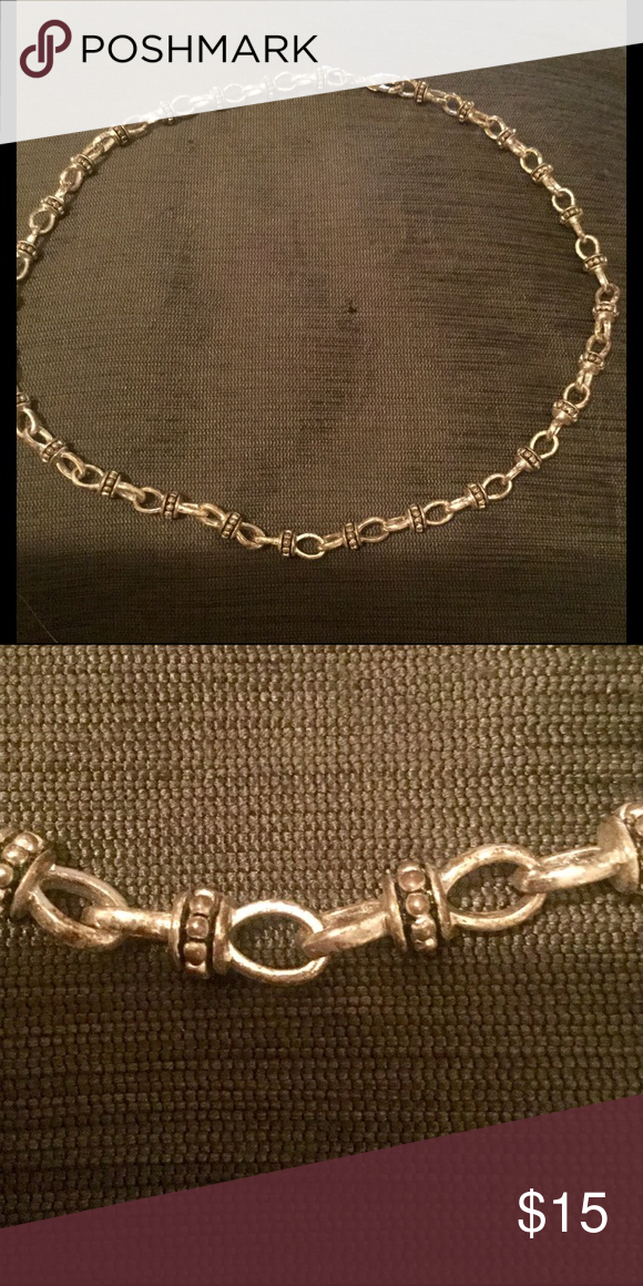 Premier Designs silver chain link necklace Premier designs Chain