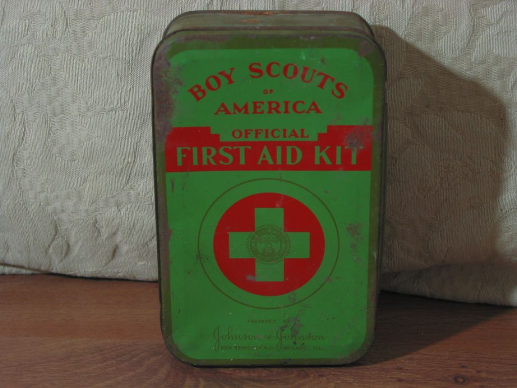 Boy Scouts Of America Official First Aid Kit Johnson And