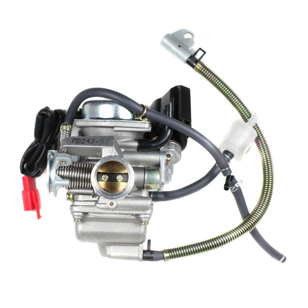 Chinese PD24J Carburetor - Electric Choke - GY6 150cc