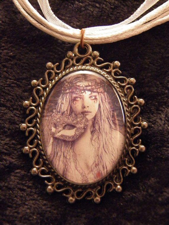 Victoria Frances  Necklace by RobinInWonderland on Etsy, $10.00