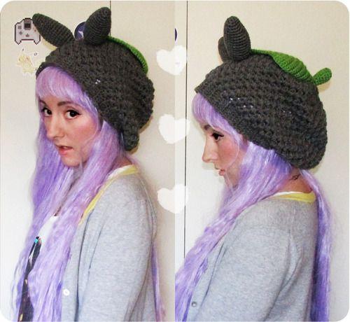 Free Slouchy Totoro Hat Crochet Pattern Slouchy Beanie Pattern