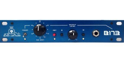 Black Lion Audio B173 Microphone Preamplifier: Put some pro-level polish on your tracks with the B173 -- BLA's take on the Neve 1073 microphone preamp. The stepped knob gives you 80 dB of sparkling gain.
