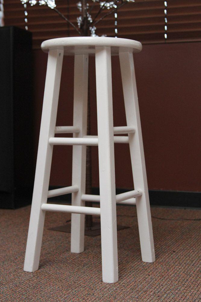 Astounding Fresco Of White Wood Bar Stools Providing Enjoyment In Your Ncnpc Chair Design For Home Ncnpcorg
