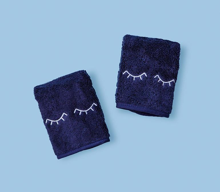 Makeup Towels (pair) eyelids Makeup towel, Towel