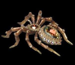 WHo wants a jeweled spider desk clock?... Anyone?....anyone..