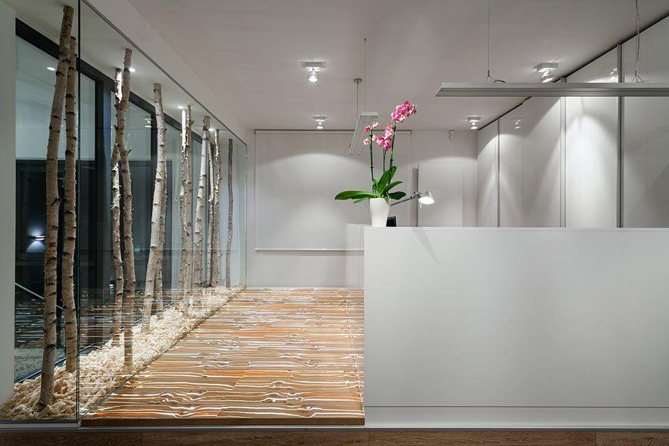 einzigartiger bodenbelag f r den empfang holz led beleuchtung empfang pinterest. Black Bedroom Furniture Sets. Home Design Ideas