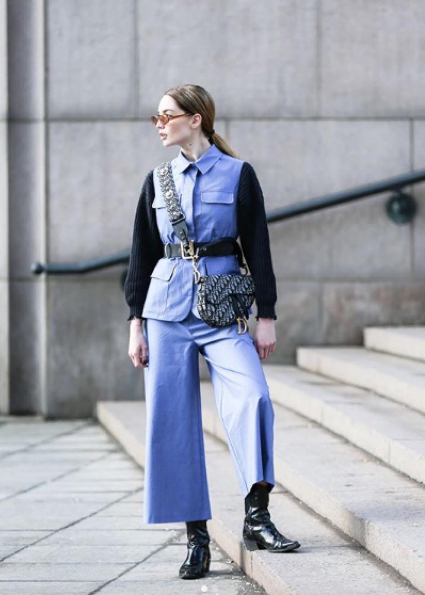 Otro Estilo De Chaqueta Con Cinturón Ancho Abrigos Moda Siluetas Femeninas
