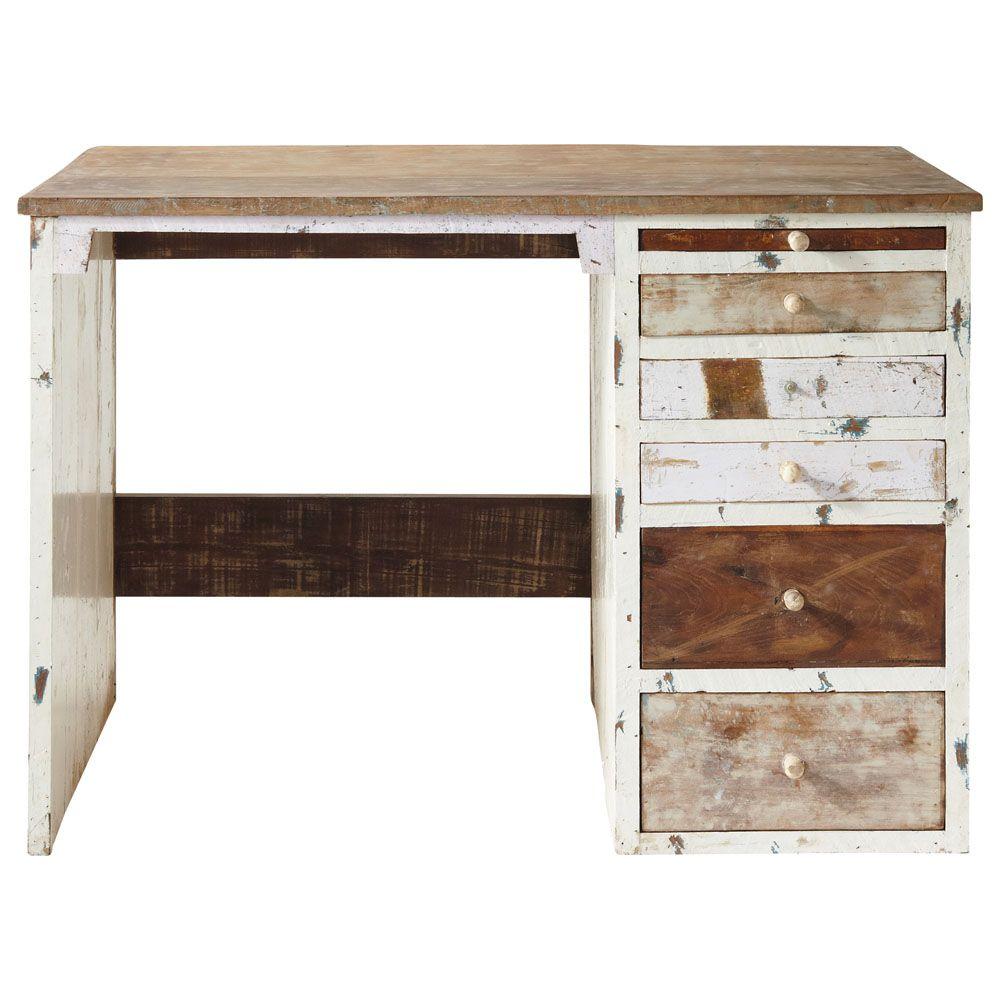 Maison Du Monde Bureau Newport. Best Vintage Wooden Wall Shelves L ...