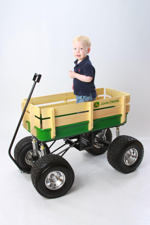 John Deere Wagons Flowered : John deere wagon with link suspension kit from baja
